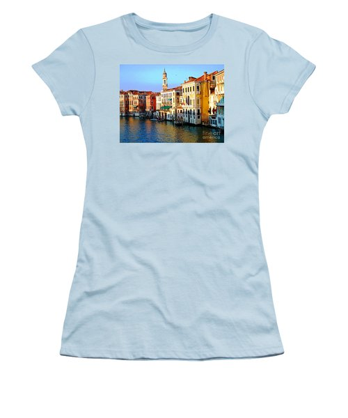 Venezia Grand Canal Women's T-Shirt (Athletic Fit)