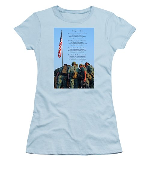 Veterans Remember Women's T-Shirt (Athletic Fit)