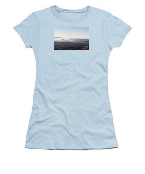 View From Blood Mountain Women's T-Shirt (Junior Cut) by Paul Rebmann