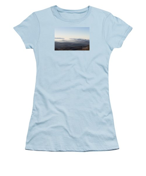 View From Blood Mountain Women's T-Shirt (Athletic Fit)