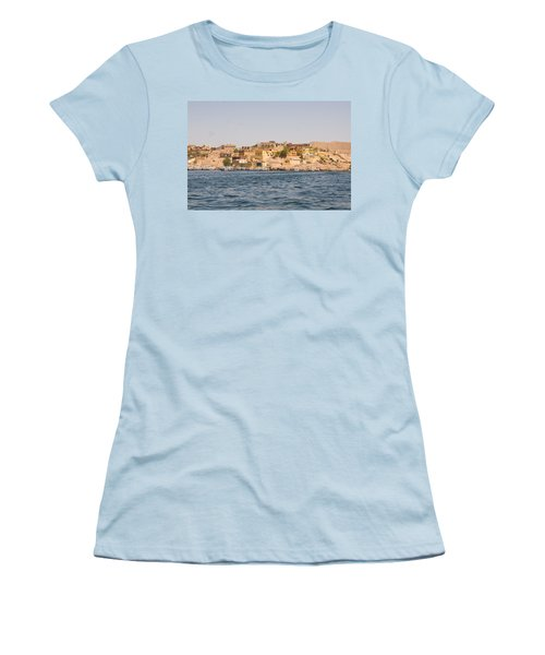View From Boat Women's T-Shirt (Athletic Fit)
