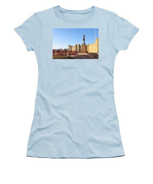 Virginia Military Institute Women's T-Shirt (Junior Cut) by Melinda Fawver