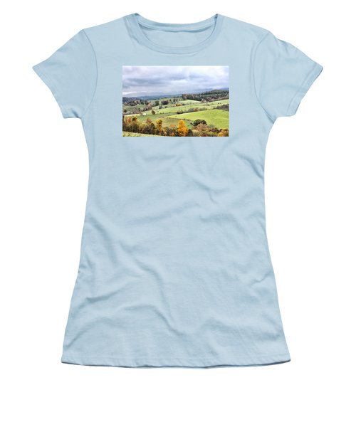 Waddletown Road Women's T-Shirt (Athletic Fit)