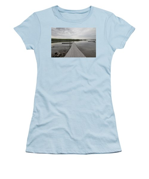 Walking The Plank Women's T-Shirt (Athletic Fit)