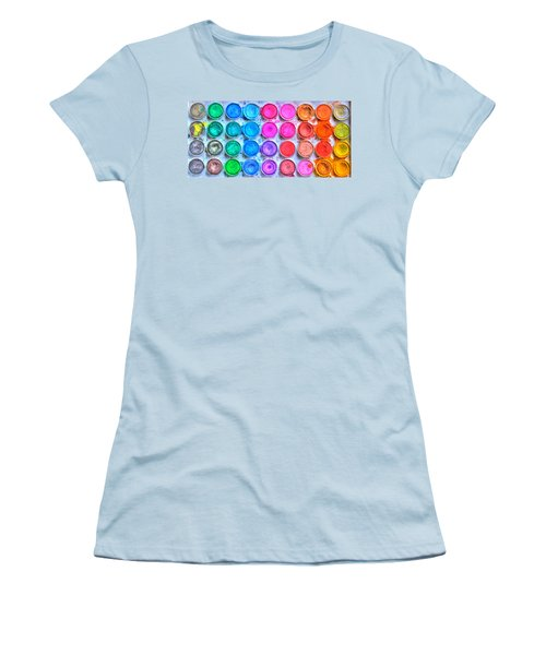 Watercolor Women's T-Shirt (Athletic Fit)