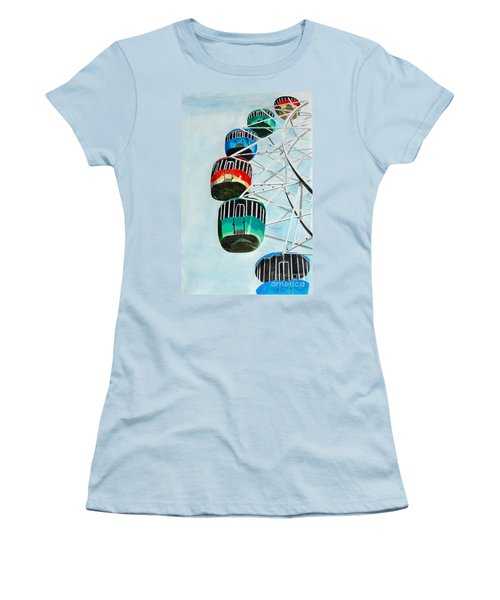 Way Up In The Sky Women's T-Shirt (Athletic Fit)
