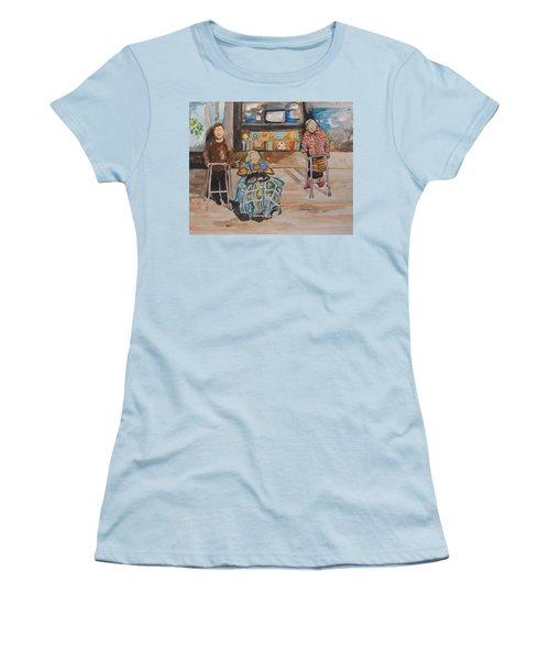 We're Still Here Women's T-Shirt (Junior Cut)