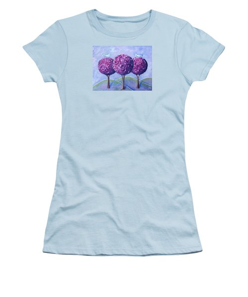 When The Cherry Trees Are Blooming Women's T-Shirt (Junior Cut)