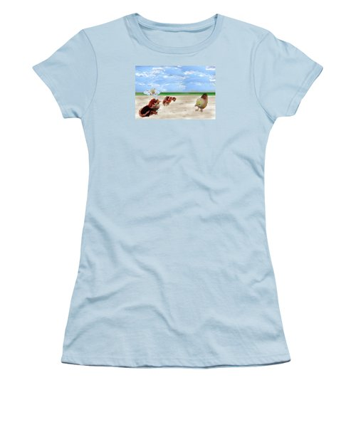 Who Is The Blond Chic Women's T-Shirt (Athletic Fit)