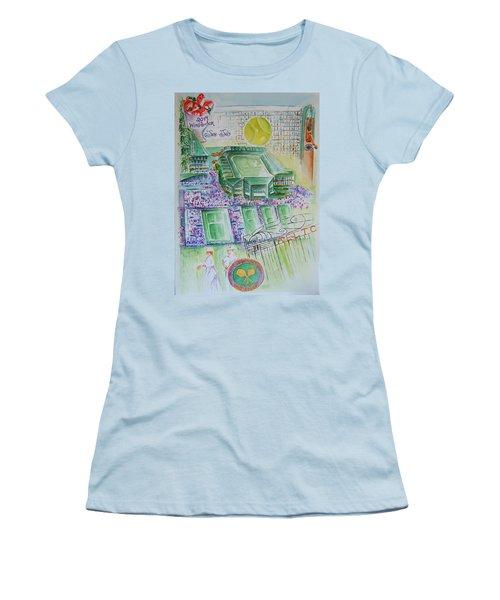Wimbledon 2014 Women's T-Shirt (Athletic Fit)