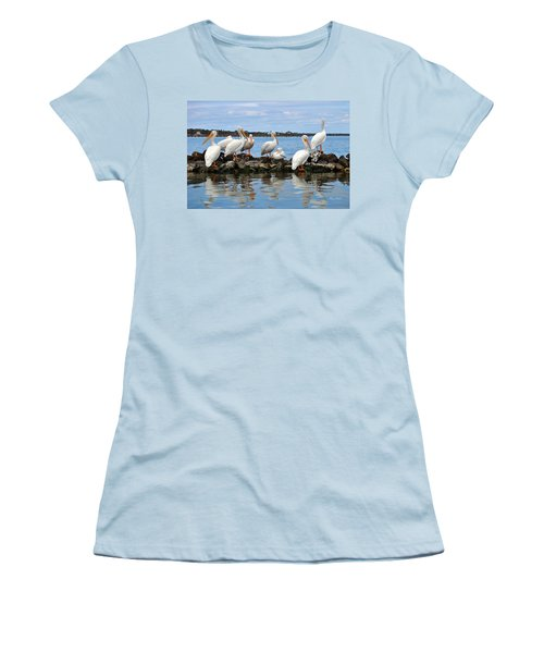 Winter Bliss  Women's T-Shirt (Athletic Fit)