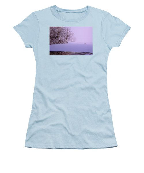 Women's T-Shirt (Junior Cut) featuring the photograph Winter Solstice by Brenda Jacobs