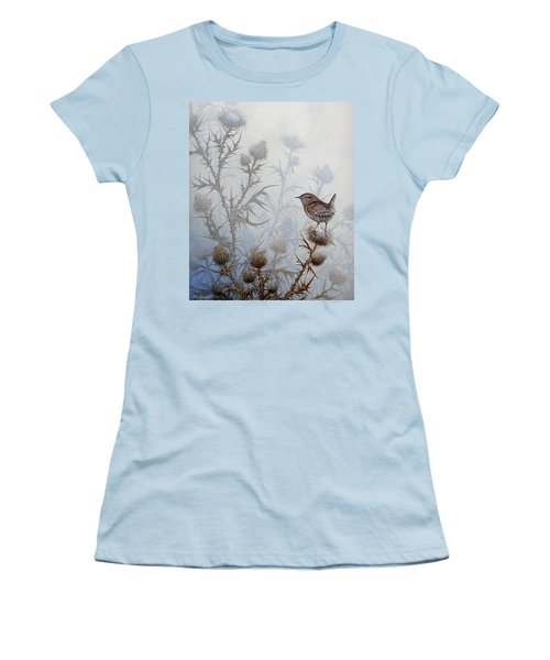 Winter Wren Women's T-Shirt (Athletic Fit)
