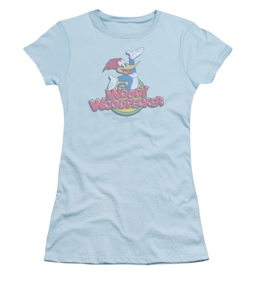 Woody Woodpecker - Retro Fade Women's T-Shirt (Athletic Fit)