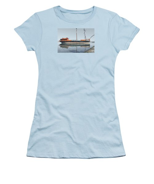 Wreck Reflection Women's T-Shirt (Athletic Fit)