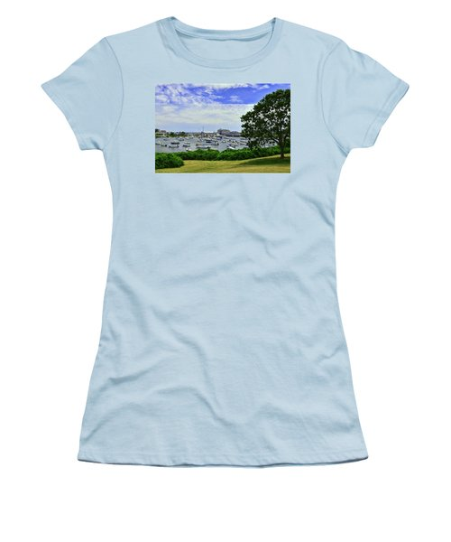 Wychmere Harbor Women's T-Shirt (Junior Cut) by Allen Beatty