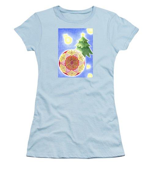 X'mas Ornament Women's T-Shirt (Athletic Fit)