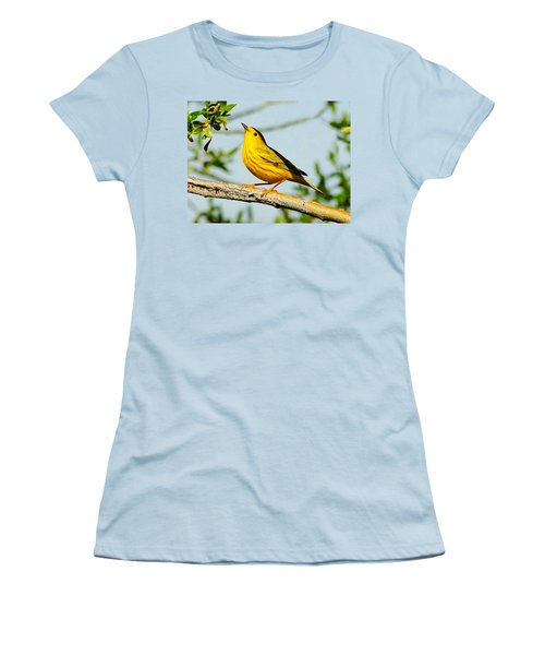 Yellow Bird Women's T-Shirt (Athletic Fit)