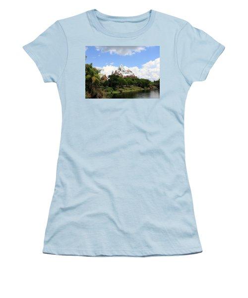 Women's T-Shirt (Junior Cut) featuring the photograph Yeti Country by David Nicholls