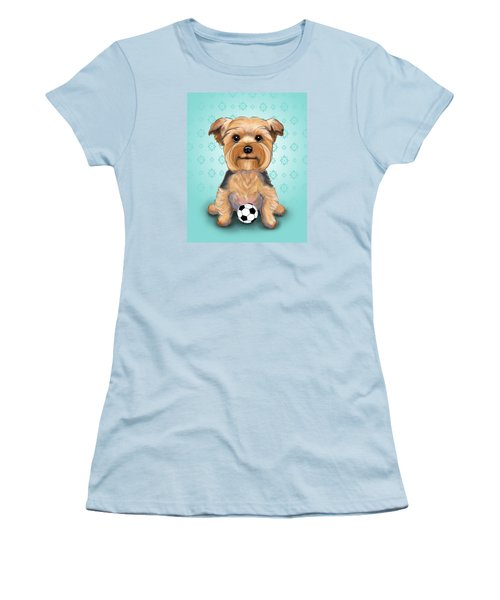 Yorkie  Baxter Hemenway Women's T-Shirt (Athletic Fit)