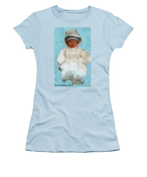Women's T-Shirt (Junior Cut) featuring the painting Zachary by Bruce Nutting