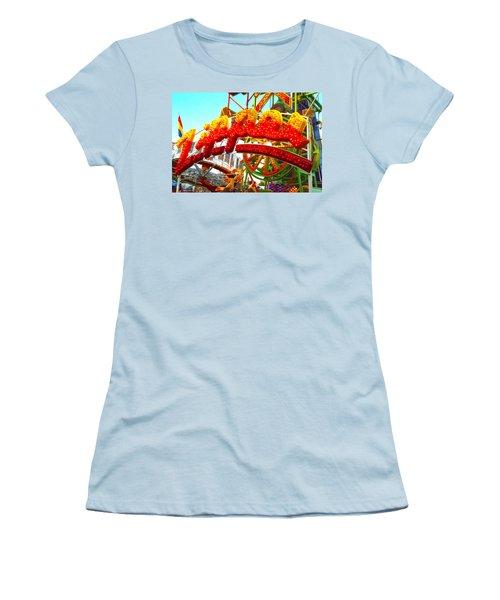 Zipper  Women's T-Shirt (Athletic Fit)