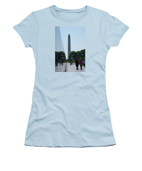 Women's T-Shirt (Junior Cut) featuring the photograph Monument by Heidi Poulin