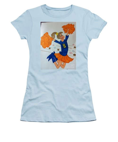 A Cheerful Cheerleader Women's T-Shirt (Athletic Fit)