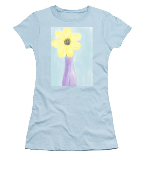 A Flower For Mo Women's T-Shirt (Junior Cut) by Heidi Smith