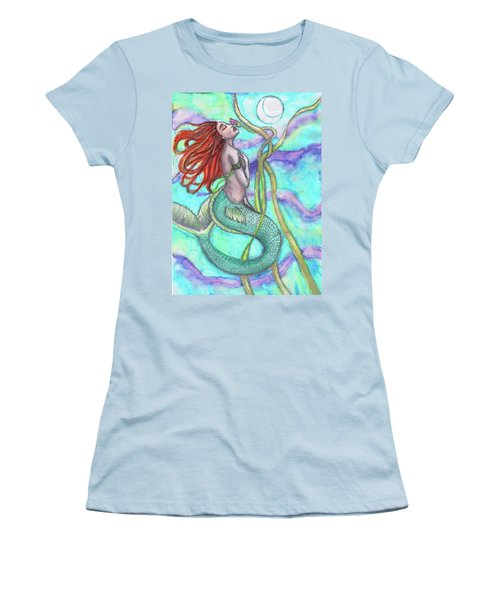 Adira The Mermaid Women's T-Shirt (Athletic Fit)