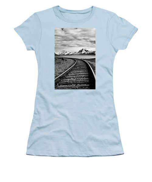 Alaska Railroad Women's T-Shirt (Athletic Fit)
