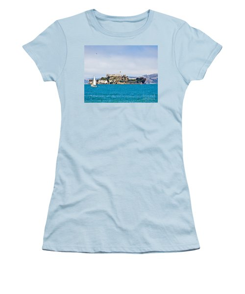 Alcatraz - San Francisco Women's T-Shirt (Athletic Fit)