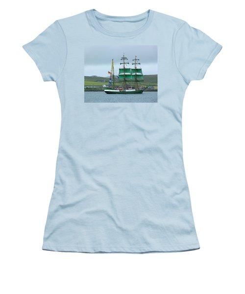 Women's T-Shirt (Junior Cut) featuring the photograph Alexander Von Humboldt by Lynn Bolt