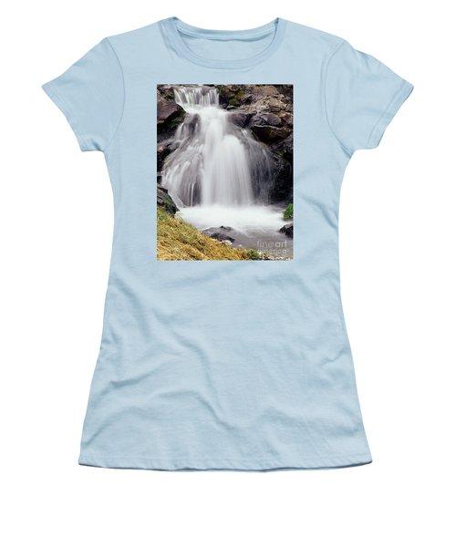 Women's T-Shirt (Junior Cut) featuring the photograph Angel Hair by Sharon Elliott