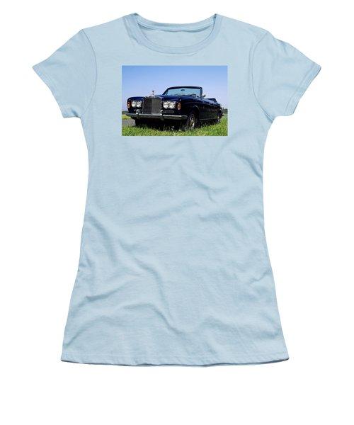 Antique Rolls Royce Women's T-Shirt (Athletic Fit)