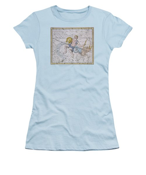 Aquarius And Capricorn Women's T-Shirt (Junior Cut) by A Jamieson