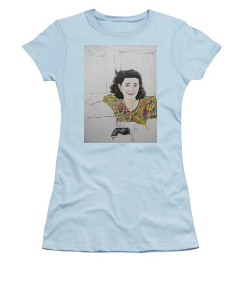 At The Cafe' Centrale Women's T-Shirt (Athletic Fit)