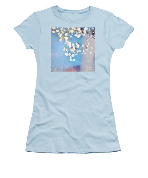 Blue Morning Women's T-Shirt (Junior Cut) by Lyn Randle