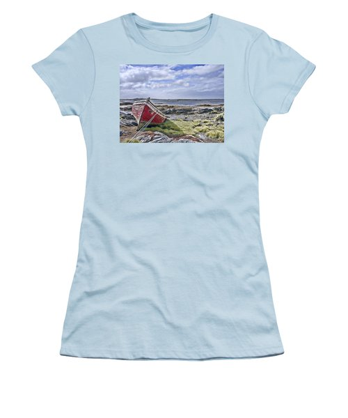 Women's T-Shirt (Junior Cut) featuring the photograph Boat by Hugh Smith