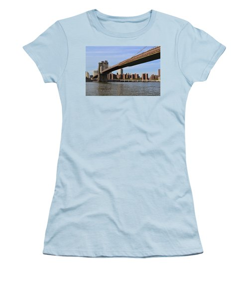 Brooklyn Bridge1 Women's T-Shirt (Athletic Fit)