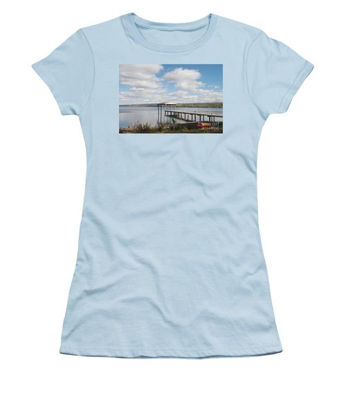 Women's T-Shirt (Junior Cut) featuring the photograph Calm Waters by William Norton