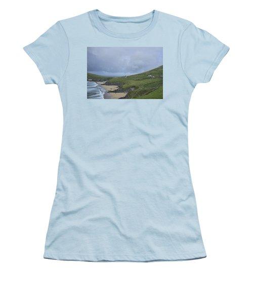 Women's T-Shirt (Junior Cut) featuring the photograph Coastline  by Hugh Smith
