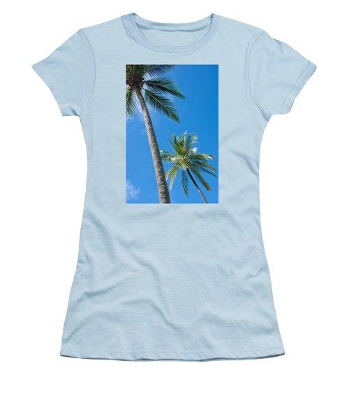 Coconuts  Women's T-Shirt (Junior Cut) by Atiketta Sangasaeng