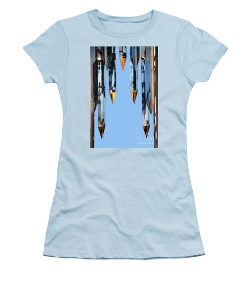 Crystal Cathedral Tower Points Women's T-Shirt (Junior Cut) by Mariola Bitner