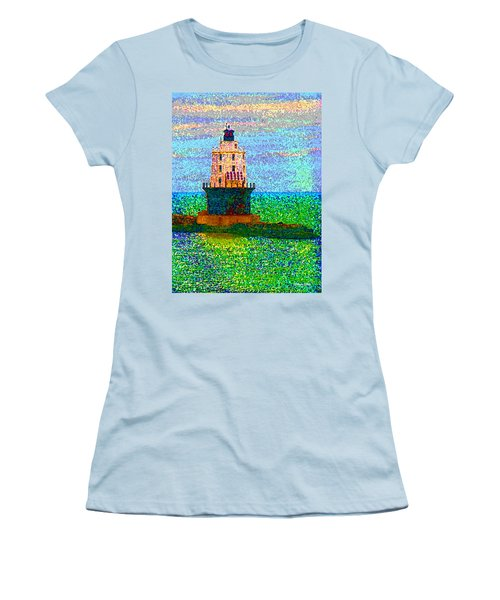 Women's T-Shirt (Junior Cut) featuring the photograph Delight House by Clara Sue Beym