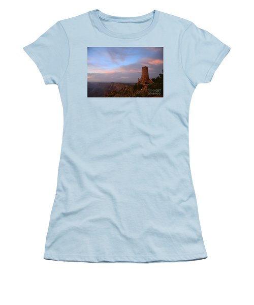 Desert View Watchtower Women's T-Shirt (Athletic Fit)