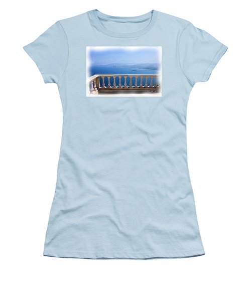 Women's T-Shirt (Athletic Fit) featuring the photograph Do-00492 Saidet El-nourieh by Digital Oil
