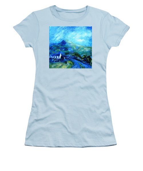 Eagle Hill Lane -ireland  Women's T-Shirt (Junior Cut) by Trudi Doyle