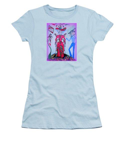 Eleonore Friend Von Claus Women's T-Shirt (Junior Cut) by Marie Schwarzer