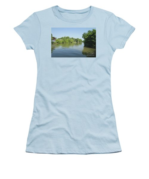 Women's T-Shirt (Junior Cut) featuring the photograph Erie Canal by William Norton